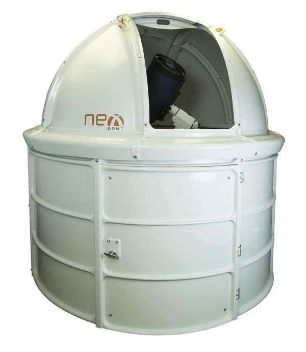 Nexdome, well-priced, strong, inexpensive to ship, easily assembled and professional-looking observatory