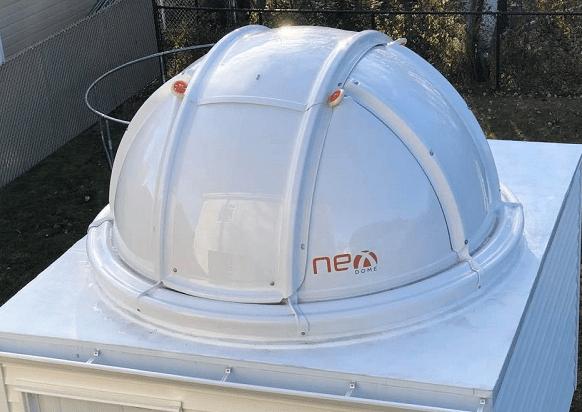 Nexdome, los observatorios económicos, resistentes, de fácil montaje y transporte, y con un aspecto profesional.