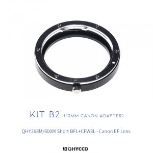 QHY Combo B2 (adaptador CANON) QHY268M/600M+CFW3L