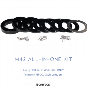 QHY M42 All-in-one Kit adapters