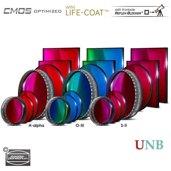 Baader 3.5 / 4nm Ultra-Narrowband Filter-Set – CMOS-optimized (H-alpha / O-III / S-II)
