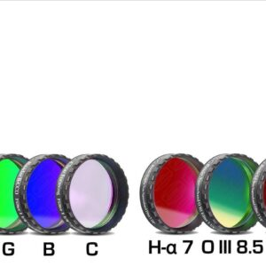Filtros Baader Planetarium CCD NB-LRGBC (Juego de 8 filtros)