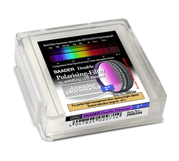 Filtro polarizador doble Baader 2