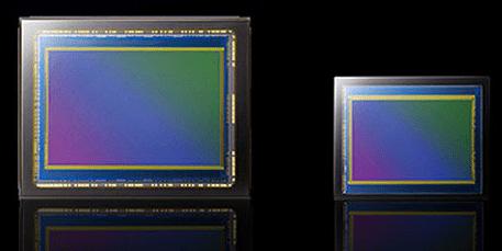 Tamaño de los sensores de las cámaras