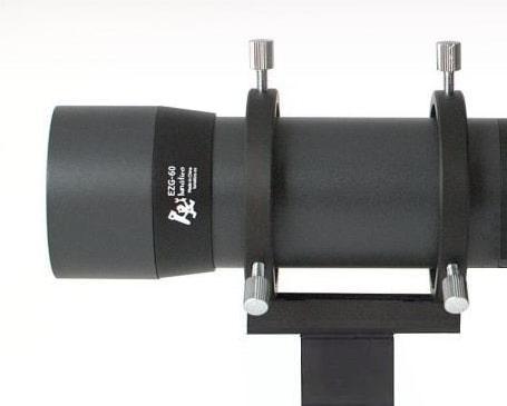Tubo guía EZG-60 de Lunatico Astronomia detalle